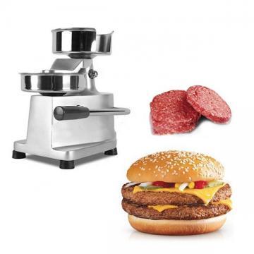 Automated Commercial Mini Hamburger Machine Burger Patty Maker