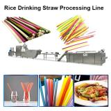 200-250kg/H Big Capacity New Material Edible Straws Biodegradable Rice Tapioca Straw Making Machine